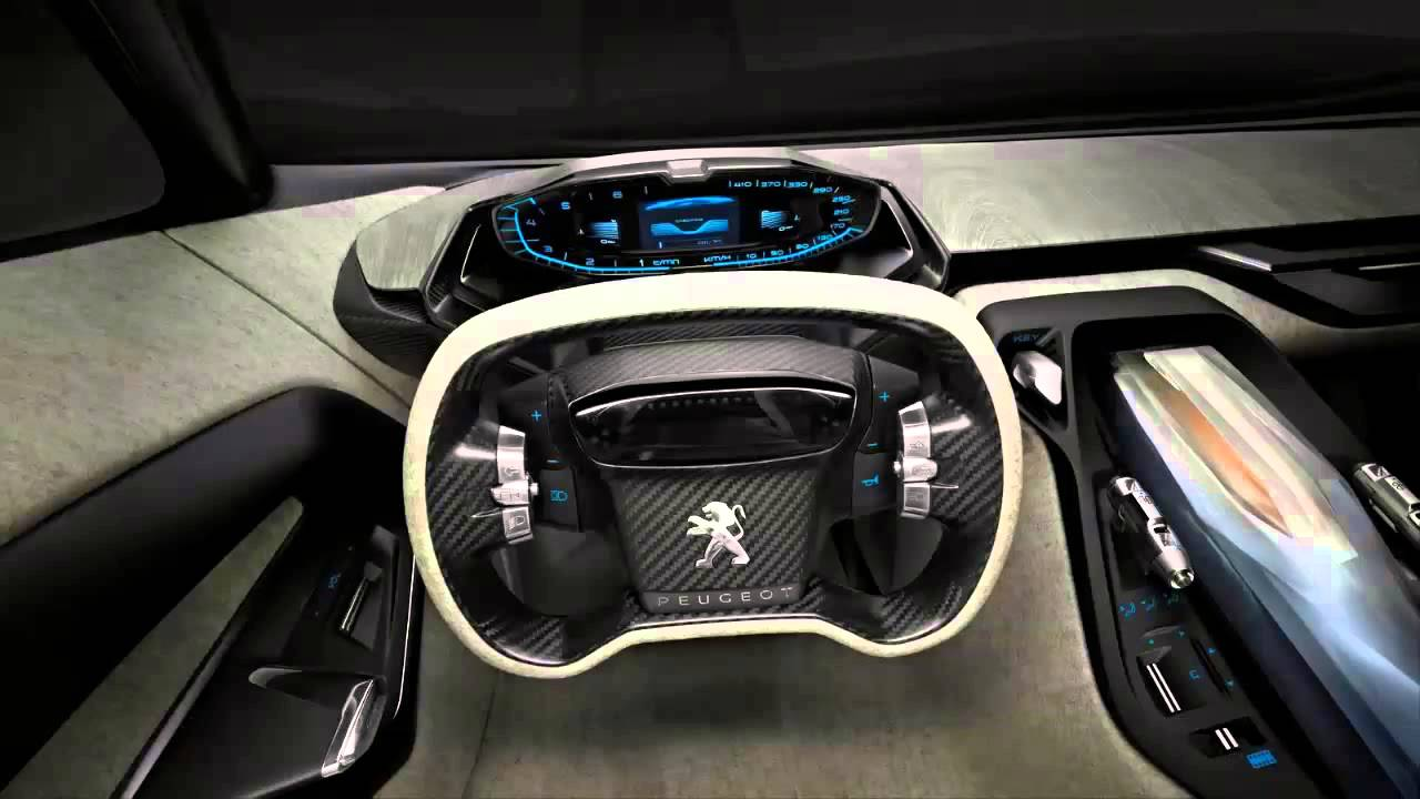 car interior 2012 peugeot onyx hybrid diesel concept on 20. Black Bedroom Furniture Sets. Home Design Ideas