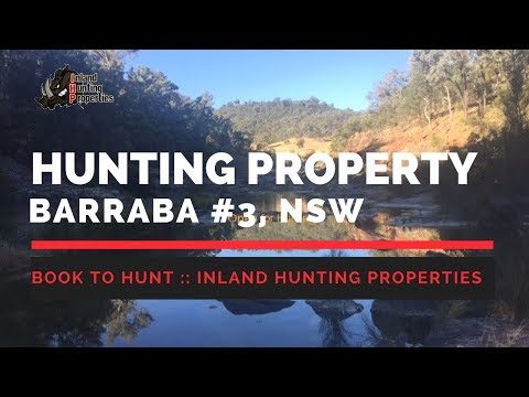BARRABA  #3 NSW Pig Hunting Property | IHP Drone Flyover