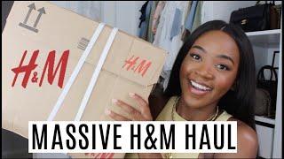 MASSIVE H&M HAUL | SUMMER TO AUTUMN
