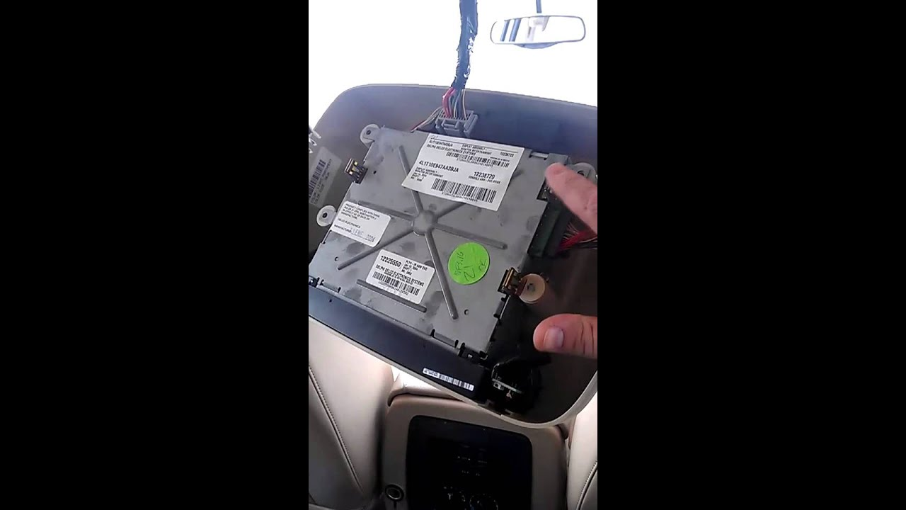 2004 ford expedition DVD player removal  YouTube
