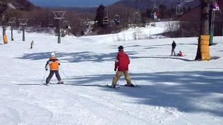 豪円山スキー場にて DMC-TZ7のAVCHD Lite 動画