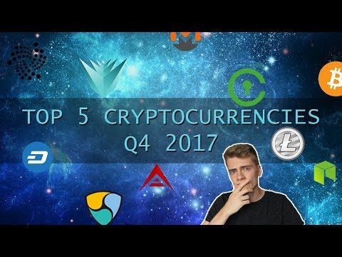 Top 5 cryptocurrencies for Q4 2017 - Civic, Verge and more!