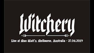 Witchery - Live at Max Watt's Melbourne, Australia - 27.04.2019