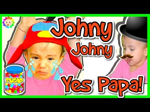 Thumbnail: JOHNY JOHNY Yes Papa 👶 Simple SONGS for Children & Baby Bottle Nursery Rhymes for Crying Babies,