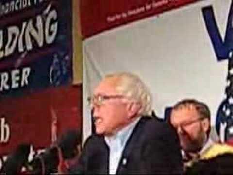Bernie Sanders Victory Speech