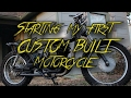Starting A Custom Motorcycle Build!!! -- Kawasaki KZ250 Build