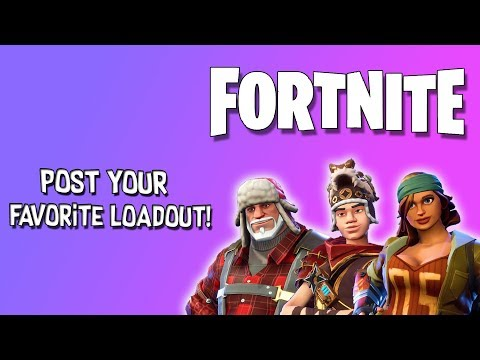 [Fortnite] Subscribers Suggested Loadouts! | Tank Penny