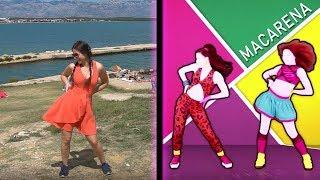 Just Dance - Macarena - IN PUBLIC