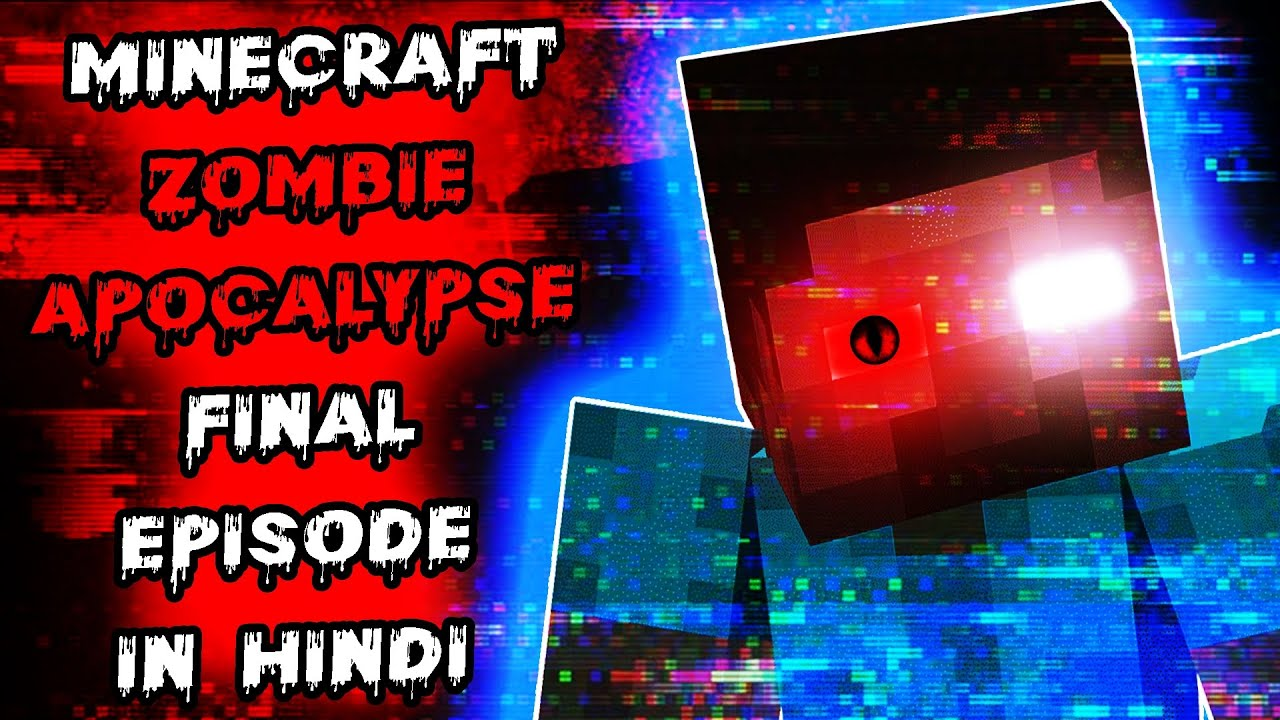 Minecraft Hardcore but its ZOMBIE APOCALYPSE FINAL EPISODE 6   Survival Story Series Gameplay