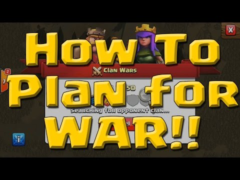 Clash of Clans - War Planning - How to Determine Targets for War - Who to Attack First!