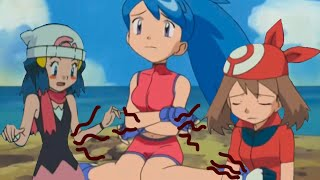 Pokémon Girls Stomachs Growl