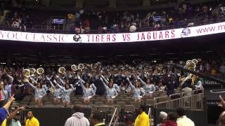 "Southern University Human Jukebox 2012 ""Gangsta B & Alma Mater"""