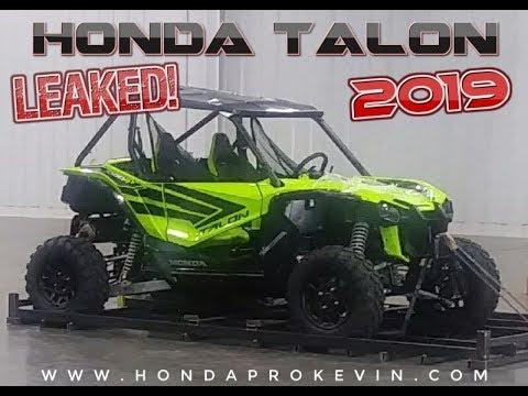All New 2019 Honda Talon 1000 Leaked Sport Side By Side Utv