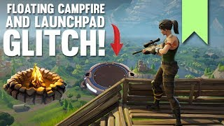 FLOATING CAMPFIRE + LAUNCHPAD GLITCH! | FORTNITE FUNNY FAILS AND BEST MOMENTS #076 (DAILY MOMENTS)