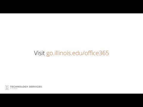 Microsoft Office 365 Free for Everyone at Illinois