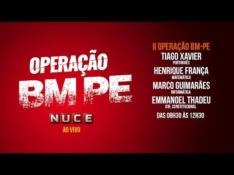 II Operação BM-PE - NUCE thumbnail