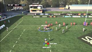 Rugby Challenge Game - Reds vs Blues (Competitive Match)