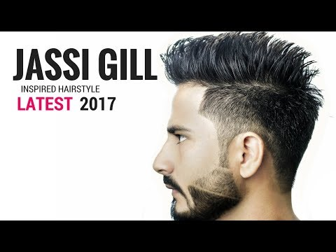 Jassi Gill Hairstyle Inspired haircut 2017 ⭐️  Indian haircuts 2017 for men