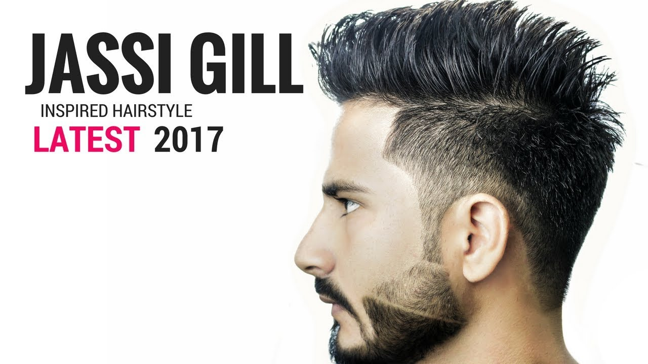 Jassi Gill Hairstyle Inspired haircut 2017  Indian haircuts 2017 for men  YouTube