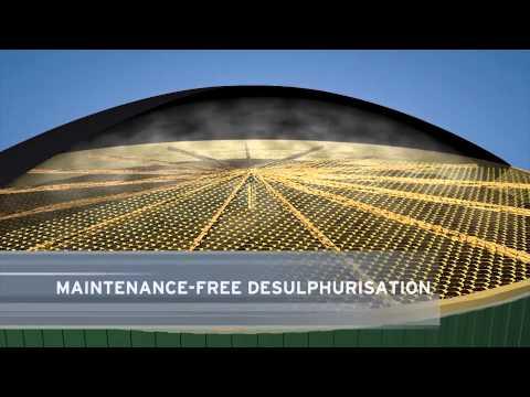 Animation MT-Biogas plant