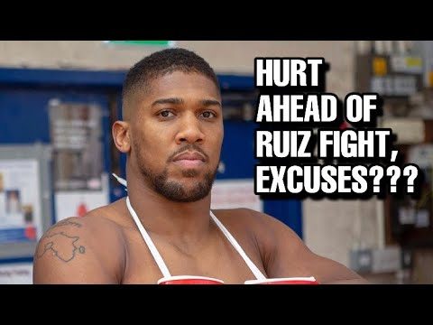 THE RELAY: Joshua injured in Sparring? Who's to blame, Joshua's father blames Hearn?!