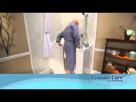 Premier care in bathing tv commercial youtube for Premier care bathrooms