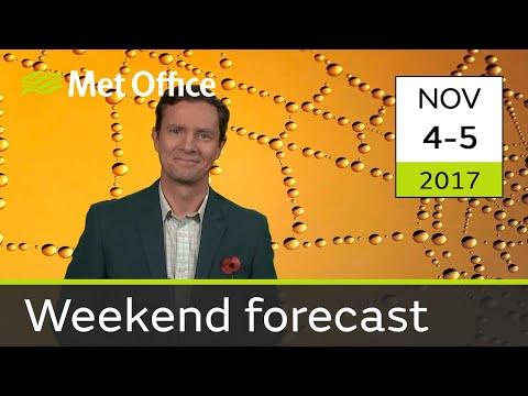 Weekend weather 4-5 Nov
