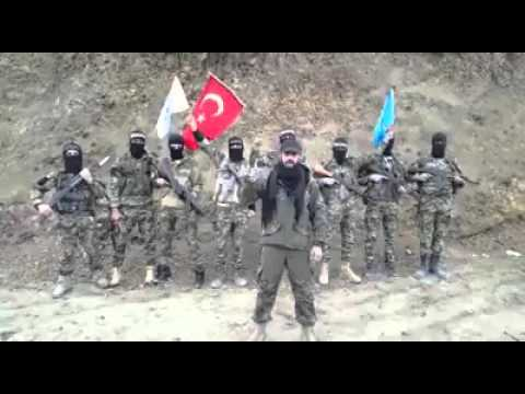 Syrian Turkmen Commander protesting ISIS and PKK!