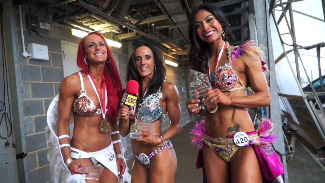 WINNERS AND NEW PROS REACTIONS - WBFF LONDON 2016