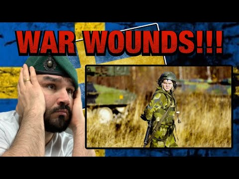 British Marine Reacts To Swedish Military Dealing With Casualty's