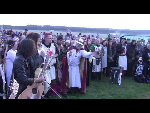 2014 Stonehenge Summer Solstice + Druid Ceremony