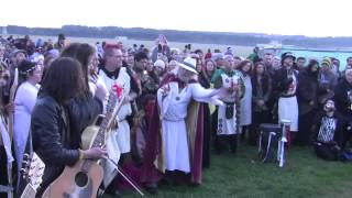 2014 Stonehenge Summer Solstice + Druid Ceremony