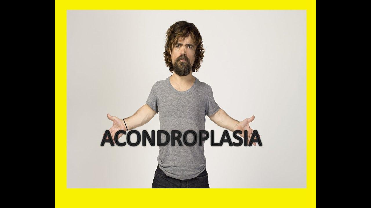 LA ACONDROPLASIA O ENANISMO; CONDICION ESPECIAL!!! - YouTube