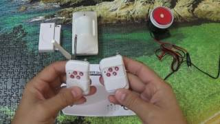 видео GSM-сигнализация из Китая