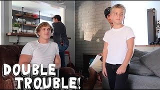 DOUBLE TROUBLE WITH LOGAN PAUL!