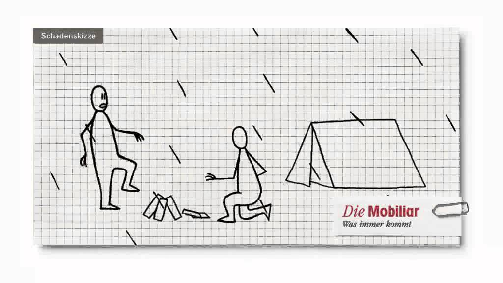 Animierte Schadenskizze Der Mobiliar Homerun Youtube