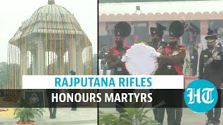 Watch: Tributes paid to fallen heroes at Rajputana Rifles' Remembrance Day