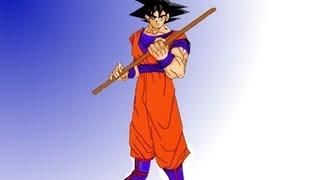 learn how to draw anime -  Full body goku