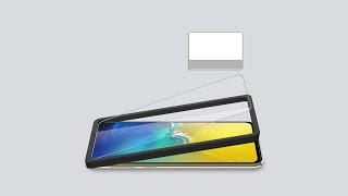 LK Tempered Glass Screen Protector with Installation Tray For Galaxy S10e