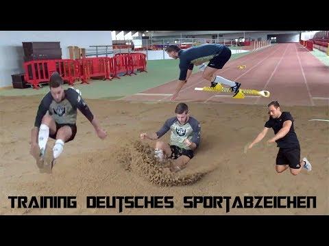 TRAINING FÜR'S DEUTSCHE SPORTABZEICHEN