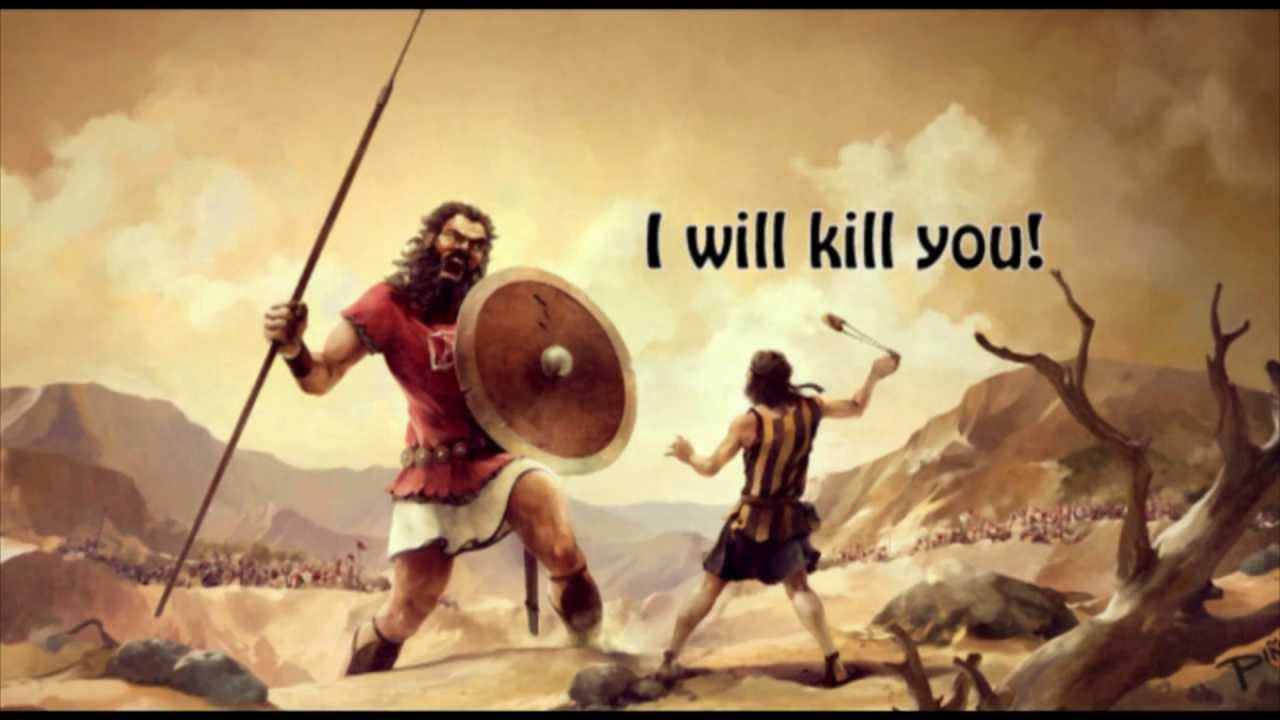 KIDS BIBLE STORIES - David and Goliath - YouTube