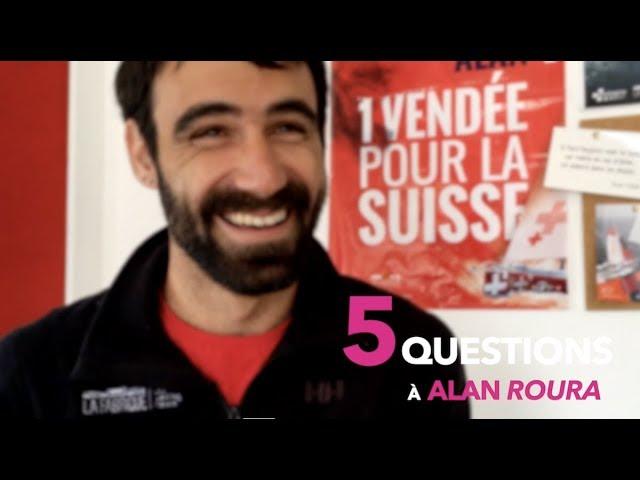 5 Questions à Alan Roura