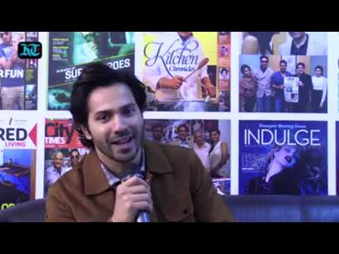 OCTOBER : Varun Dhawan new movie OCTOBER promotion in Dubai. One question One Answer.