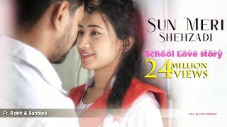 Sun Meri Shehzadi | School love Story | New famous Song 2020 | Rawmats | Fall In Love