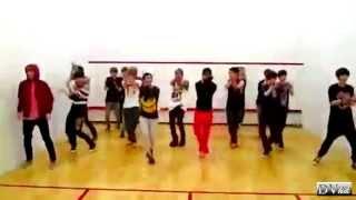 SHINee & EXO - Lucifer & Sherlock (dance practice) DVhd