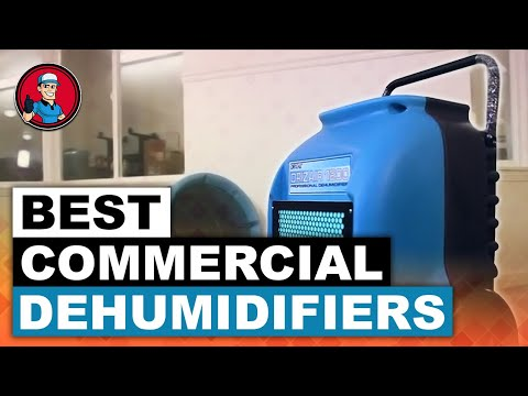 Best Commercial Dehumidifiers | HVAC Training 101