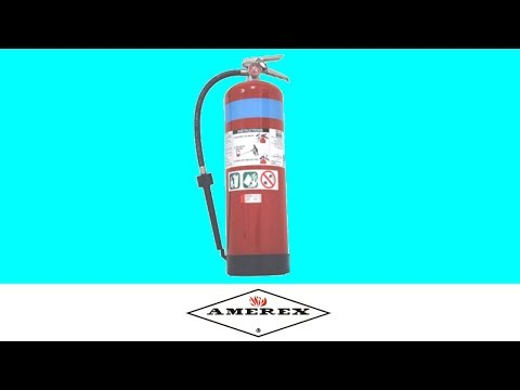 Amerex Foam Extinguisher