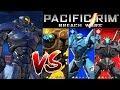 Pacific Rim: Breach Wars OBSIDIAN FURY Hybrid Vs Frip2game Jaeger Team IOSAndroid Gameplay