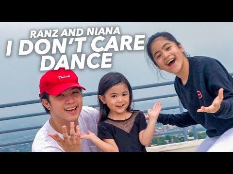 I DONT CARE - Ed Sheeran & Justin Bieber Dance | Ranz And Niana