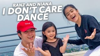 I DONT CARE - Ed Sheeran & Justin Bieber Dance | Ranz and Niana